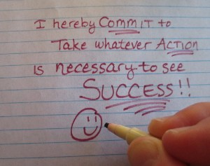 My COMMITMENT to ACT and SUCCEED