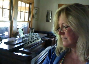 Me and my Emerson Square Grand Piano