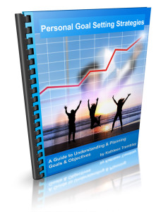 This goal planning guide has useful, step-by-step worksheets