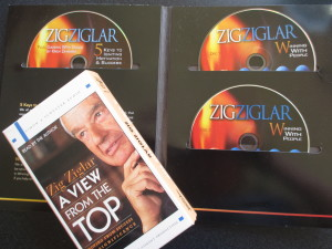 """Zig Ziglar - Motivational CDs and """"A View From the Top"""""""