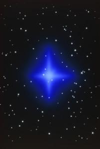 star - looks like cross